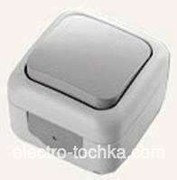 VI-KO PALMIYE  кнопка звонка  IP-54 (серый)
