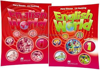 Английский язык / English World / Student's+Workbook. Учебник+Тетрадь (комплект), 1 / Macmillan