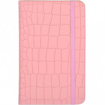Блокнот на резинке 14×9 см твердый переплет, кож/зам 5602–11             5602-11, фото 2