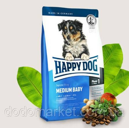 Сухой корм для щенков Happy Dog Supreme Medium Baby 4 кг