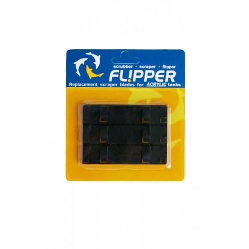 Набор из трёх пластиковых скребков для FLIPPER STANDART. Для акриловых аквариумов.