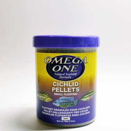 Omega One Cichlid Pellets S (99g), фото 2