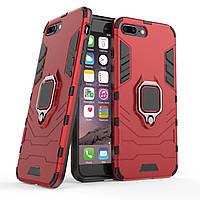 Чехол Ring Armor для Apple iPhone 7 Plus / 8 Plus Красный