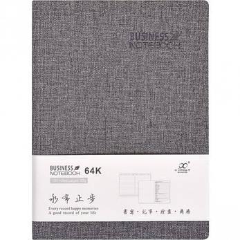 Блокнот 14,5×10,5 см интегральная обл. , кож/зам линия 64–78, фото 2