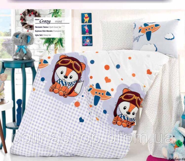 """Детский комплект постельного белья в кроватку ALTINBASAK """"Crazy 2"""""""