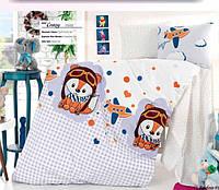 """Детский комплект постельного белья в кроватку ALTINBASAK """"Crazy 2"""" , фото 1"""