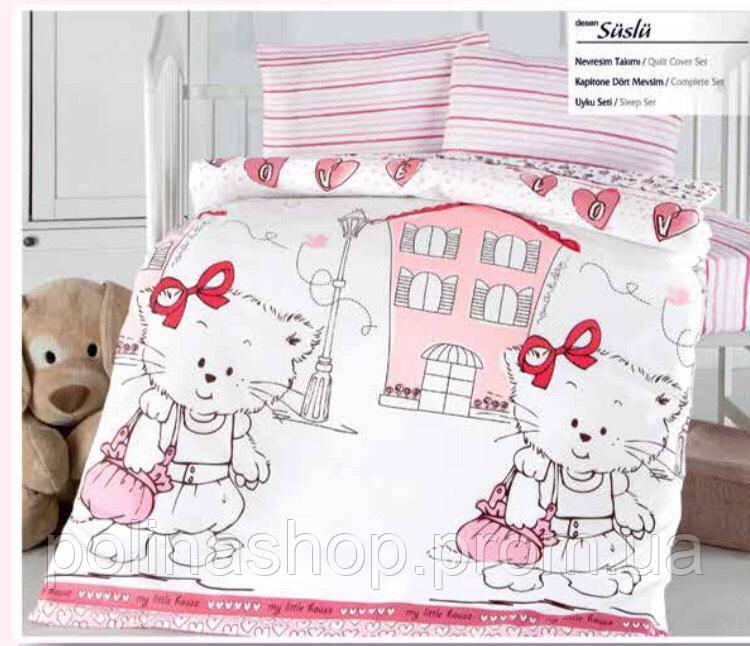 """Детский комплект постельного белья в кроватку ALTINBASAK """"Suslu"""""""