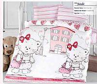 """Детский комплект постельного белья в кроватку ALTINBASAK """"Suslu"""" , фото 1"""