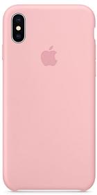 Чехол накладка Silicone Case для iPhone X/Xs Розовый