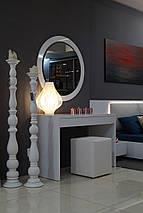 Дамский стол Silver глянец, фото 3