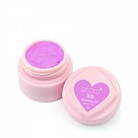 Гель-пластилин №2\762, лилово-розовый | 3D Modelling gel Canni