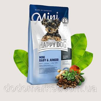 Сухой корм для щенков Happy Dog Supreme Mini Baby and Junior 4 кг