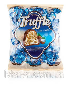 Шоколадные  конфеты Truffle Coconut Elvan  , 1000 гр