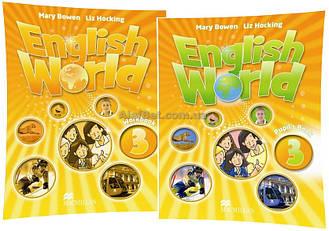Английский язык / English World / Student's+Workbook. Учебник+Тетрадь (комплект), 3 / Macmillan