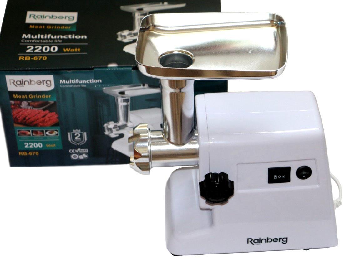Мясорубка Rainberg RB 671 2200 Вт