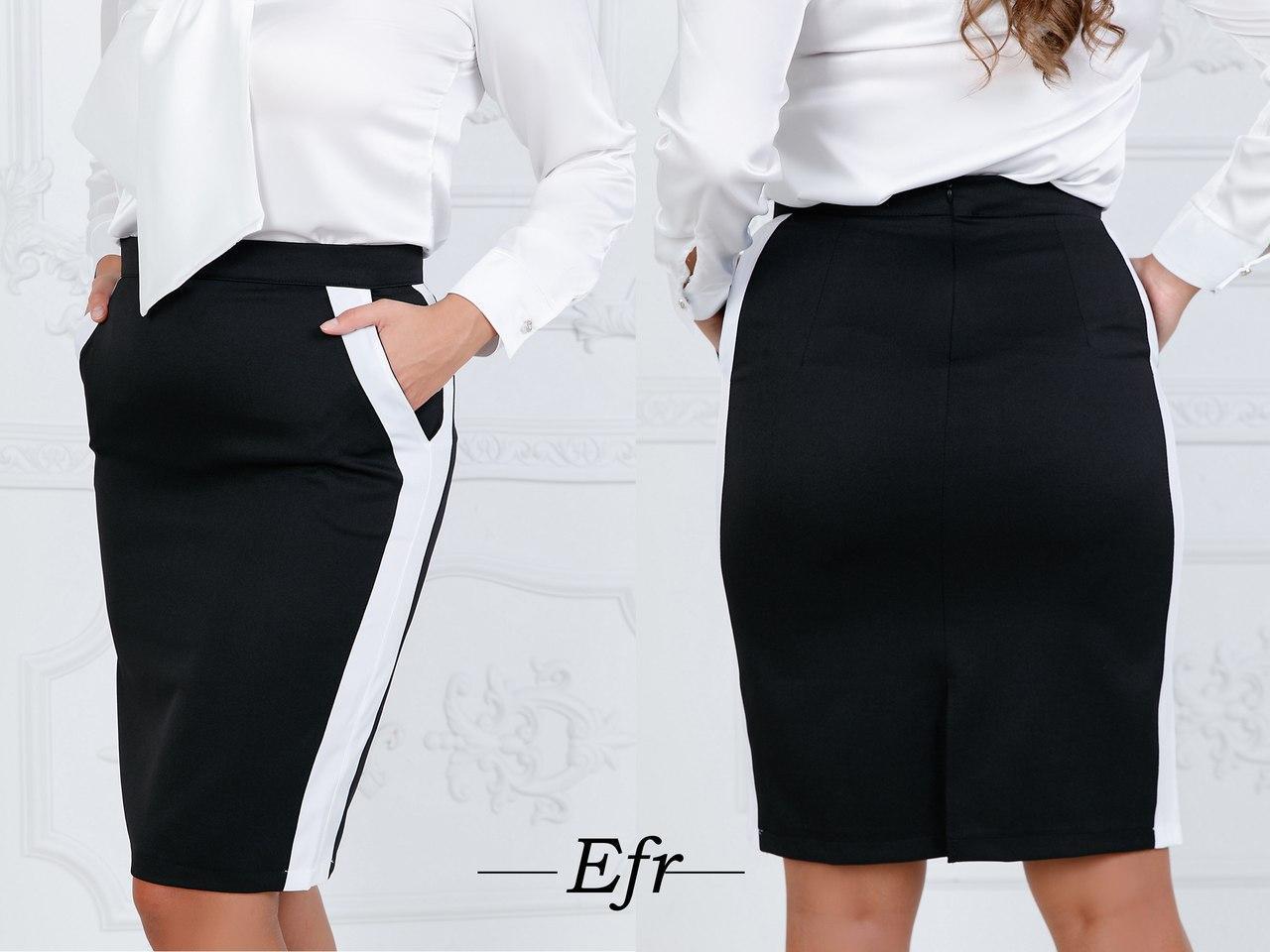 Женская юбка (батал)