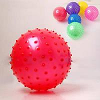 Мяч с шипами B15754 резиновый 14 см. В ассортименте