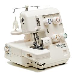 Minerva M 640 DS, 3/4-ниточный бытовой оверлок, 4 вида швов