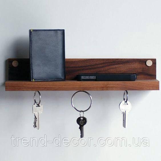 Магнитный держатель для ключей и полка