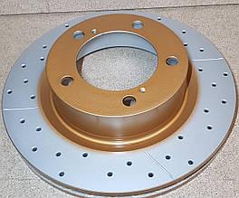 Диск тормозной передний DBA 2722X  X-GOLD  для Toyota LC200 / LX570 340мм