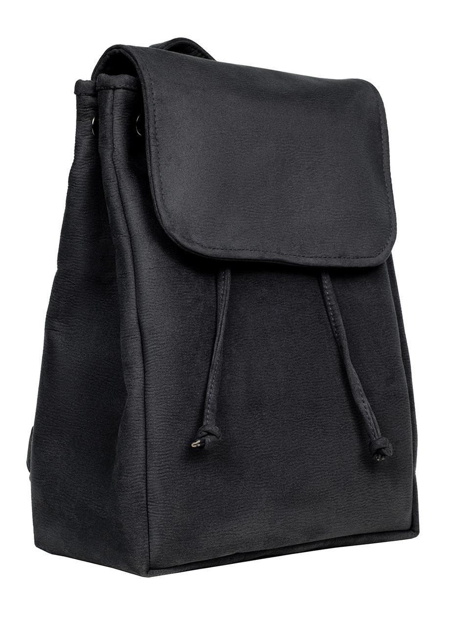 Рюкзак Sambag Loft BZN черный замш