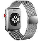 Ремешок Fitness для Apple Watch Series 3 Milanese Loop 42 mm Silver 432632, КОД: 178952, фото 2