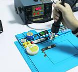 Килимок силіконовий термостійкий, для розборки і пайки S-160 (450*300 мм), фото 7