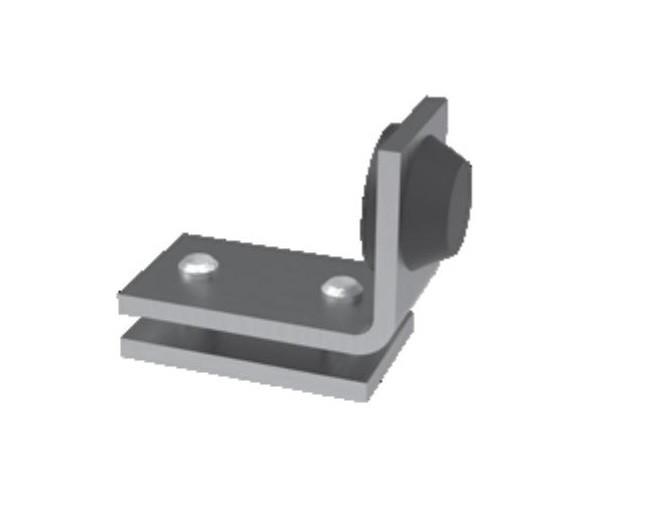 Концевой упор для остановки кареток 44 мм.