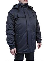 Куртка рабочая зимняя Полюс флис синяя