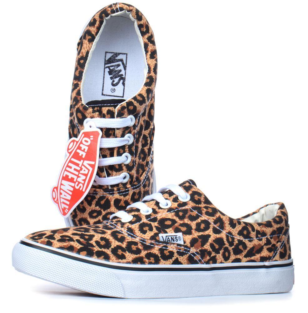 3216cab39856 Кеды Женские Леопардовые Vans Authentic Leopard Коричневые ...