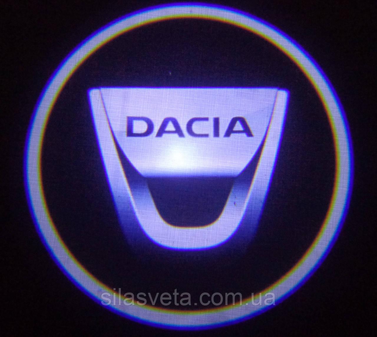 Лазерный проектор логотипа автомобиля DACIA