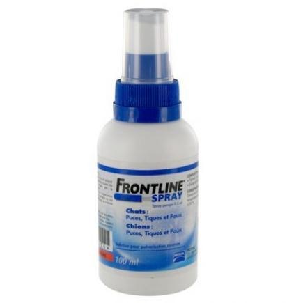 Спрей Merial Frontline Spray Меріал Фронтлайн спрей для кішок від бліх і кліщів 100мл
