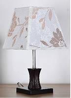Лампа настольная 6043  с абажуром