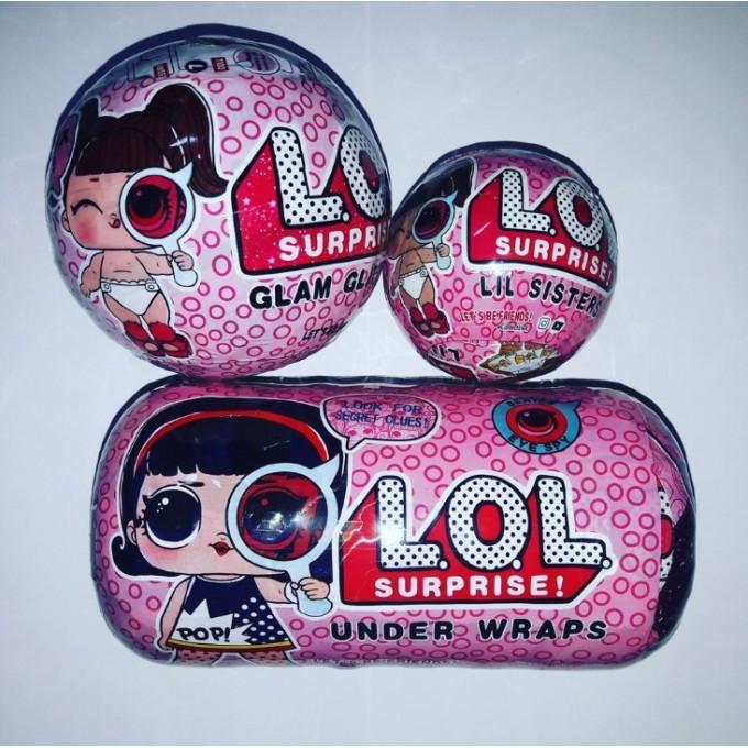 Кукла L.O.L. Surprise набор Under Wraps реплика