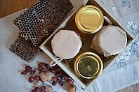 Корпоративные подарки - мед в баночках