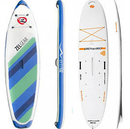 Доски для серфинга SUP Board надувные и пластиковые