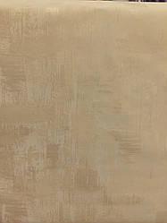 """Обои946-02  """"Status"""" горячее тиснение на  флизелине нежно-золотого цвета  для  гостиной, спальни, прихожей"""