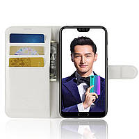 Чехол-книжка Litchie Wallet для Huawei Honor 10 Белый