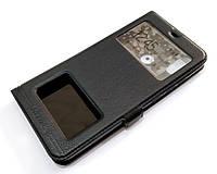 Чехол книжка с окошками momax для Xiaomi Mi 8 Pro черный, фото 1
