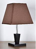 Лампа настольная 6001  с абажуром