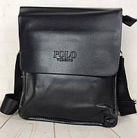 Стильная  мужская сумка Polo. Сумки Поло. КС9