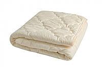 Одеяло закрытое однотонное овечья шерсть Микрофибра Двуспальное Евро