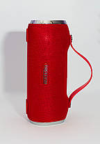 Портативная колонка 4YOU FREEDOM (IPX4, 10W, 1500mah, эксклюз. дизайн, гар 12мес) red , фото 2