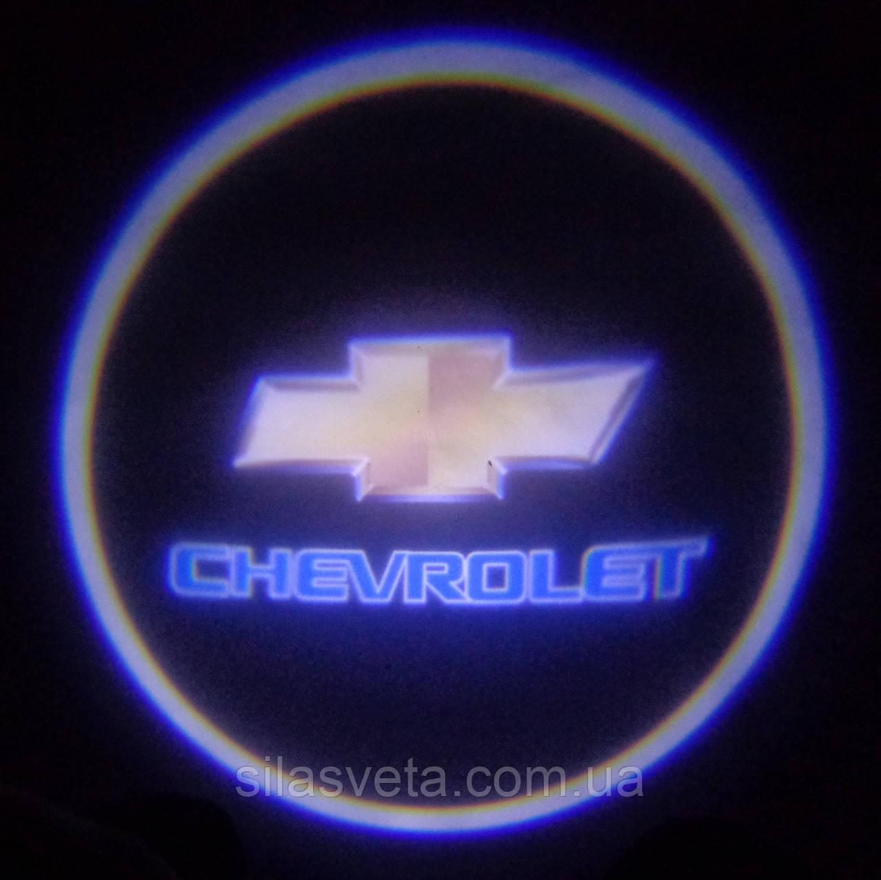 Лазерный проектор логотипа автомобиля CHEVROLET