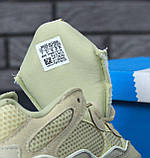 Кроссовки женские Adidas Yeezy Boost 500 31092 бежевые, фото 5
