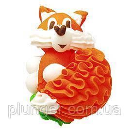 Цукрова оздоба для торта Лисичка