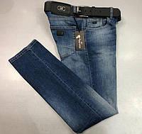 Мужские джинсы SALVATORE FERRAGAMO D5587 темно-синие