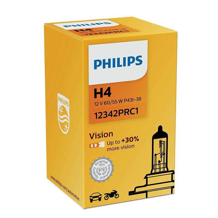 Лампа автомобильная Н4  PHILIPS PREMIUM