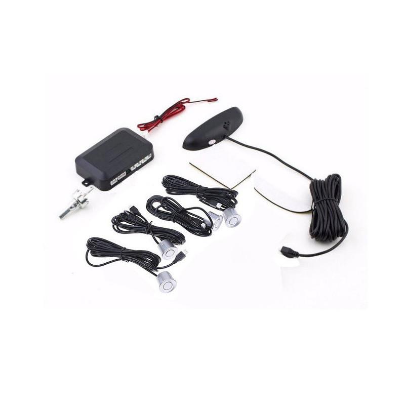 Парктроник ParkCity с LED дисплеем Silver detectors hubnp20014, КОД: 147388