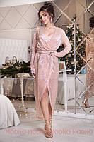 Женское шикарное платье на запах, фото 1